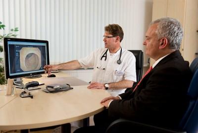 Vorsorgekoloskopie beim Mann